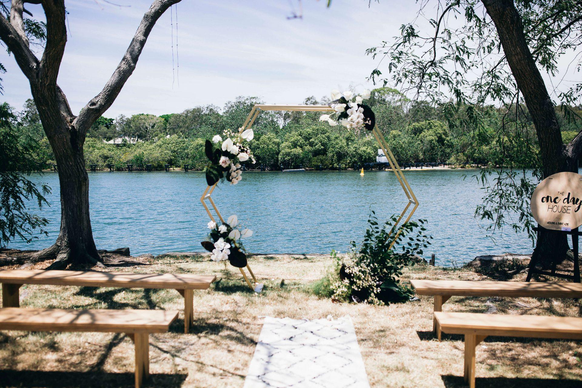Tweed Wedding Trail Archway