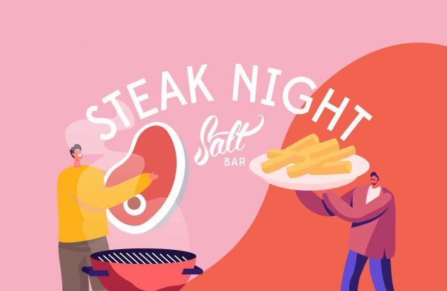 steak night salt bar #ovethetweed